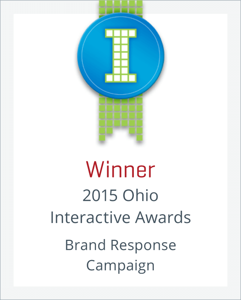 Winner-2015 Ohio Interactive Awards: Brand Response Campaign