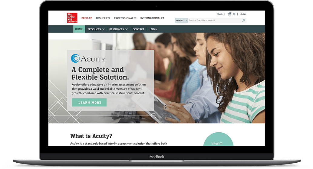 McGraw-Hill Education Acuity