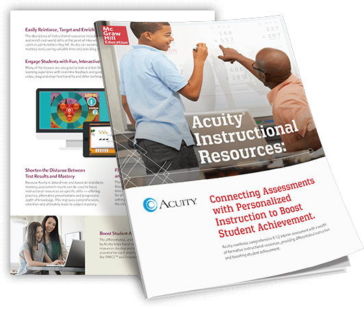 McGraw-Hill Education Acuity brochure